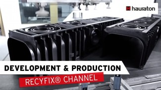 The RECYFIX Channel from HAURATON – construction, tool manufacturing, production